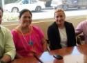 Se reúne Gabriel Cué con líderes del partido Verde y de la URCCPAC