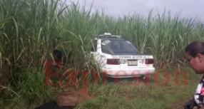 Encuentran cuerpo de un sujeto asesinado al interior de un taxi