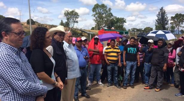 Se reúne Benjamín Robles con resistencia  de Nochixtlán y Comisión legislativa