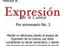 Felicitación de la Sindica Hacendaria Rosa Isela Cruz Acosta