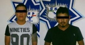 Policía Estatal asegura a sujetos armados en Tuxtepec