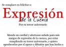 Felicitación de José Rodríguez Ballesteros