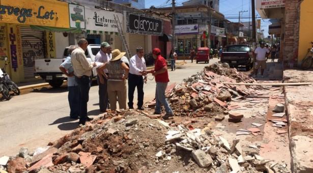 Avance del 70% en censo de daños a comercios del Istmo y Sierra Norte: Secretaría de Economía
