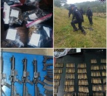 Asegura Policía Estatal fuerte armamento en la Cuenca