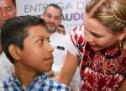DIF Oaxaca y Fundación Audiotech unen lazos  con las familias de la Cuenca del Papaloapan