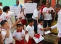 """Andres Santiago Parada visita comunidades """"santa cruz""""  """"El trópico"""" """"San Antonio el encinal"""""""