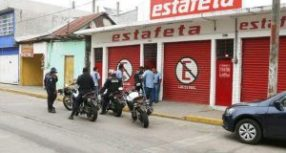 Asaltan Estafeta ubicada en 5 de mayo