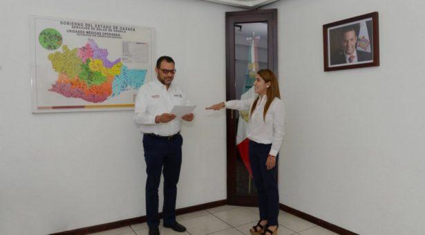 Doctora Amairani Morales de Illescas, nueva Subsecretaria de los Servicios de Salud de Oaxaca