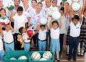 """Ivette Morán de Murat lleva Programa """"Juntos""""  a San Juan Bautista Cuicatlán"""