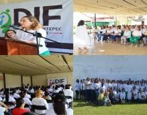 Imparten curso a personal femenino del Ayuntamiento y DIF