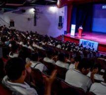 """Más de 1, 200 jóvenes participaron en la """"Semana Mundial del Espacio"""""""