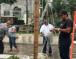 "Inician retiro de la ""Blanca Navidad"" del zócalo de Tuxtepec"