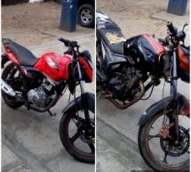 Recupera Policía Estatal dos motocicletas robadas en Tuxtepec