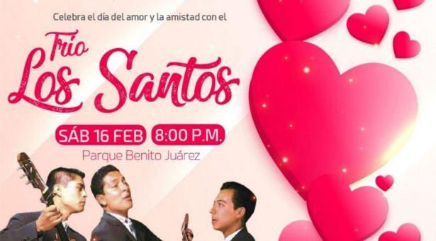 """Con el Trío """"Los Santos"""" festejará Gobierno de Tuxtepec el """"Día del Amor y la Amistad"""""""