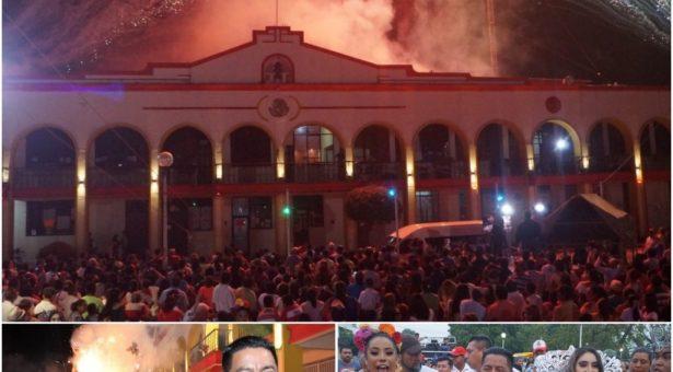 Dávila declaró abierto el Carnaval Tuxtepec 2019
