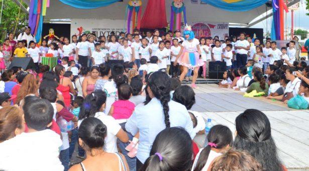 """Celebrará DIF Tuxtepec Día del Niño con festival """"Diversión con Valores"""""""