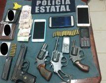 Asegura la Policía Estatal a tres personas por portación ilegal de arma en Tuxtepec