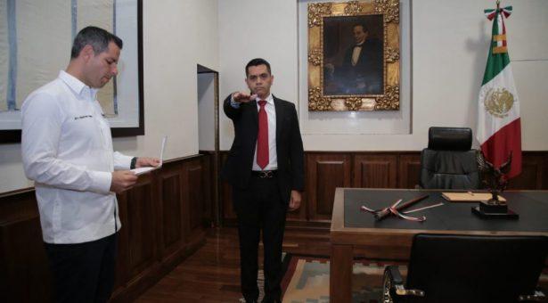 Designa el Gobernador a Raúl Ernesto Salcedo Rosales comonuevo titular de la Secretaría de Seguridad Pública de Oaxaca