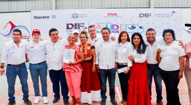 Avanzamos! Quinto día de Caravana DIF en Cd. Ixtepec, en el Istmo de Tehuantepec