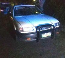 Policía Municipal de Tuxtepec recupera unidad robada