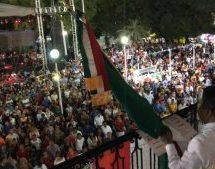 Tuxtepec da el Grito de Independencia con alegría: Dávila