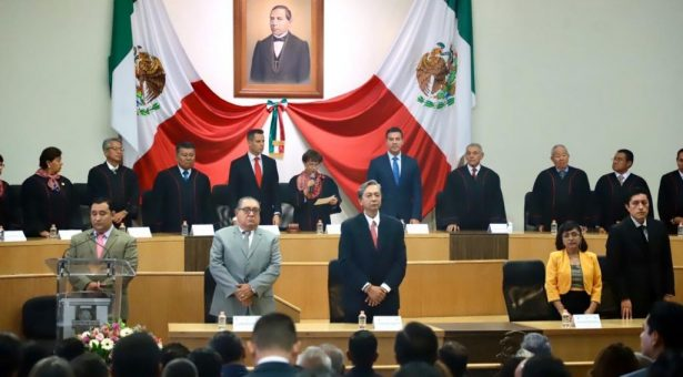 Reconoce AMH liderazgo en el Poder Judicial del Estado a favor del pueblo oaxaqueño