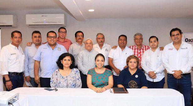 Realiza gira de trabajo la Titular de la Sedesoh en San Juan Bautista Tuxtepec