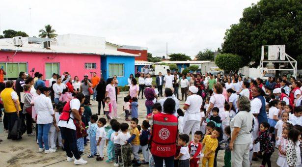 Participa Gobierno de Tuxtepec en el Macro Simulacro 2020