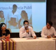 Todo listo para la novena Audiencia Pública del Gobierno de Oaxaca