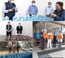 El Gobierno del Estado agradece solidaridad de empresas en la batalla contra el COVID-19