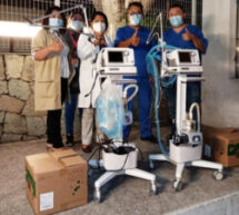 Gobierno de Oaxaca entrega 150 ventiladores más a la red hospitalaria;ya se cuenta con 500 en la entidad