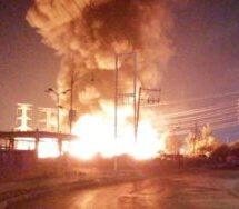 Un corto circuito por un mal trabajo de soldadura, originó incendio en Central de Abastos