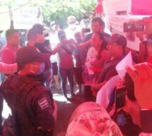 Por instrucción del gobernador Alejandro Murat, la SSPO refuerzala estrategia de seguridad en Acatlán de Pérez Figueroa