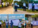 Dan banderazo de arranque de 7 obras priorizadas por el gobierno de Tuxtepec