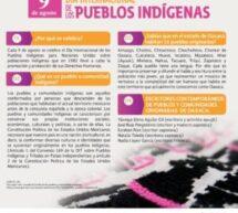 Para celebrar el Día Internacional de los Pueblos Indígenas,la Seculta difunde programación especial