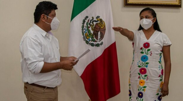 Nombra Noé Ramírez a Aidé García Directora del Instituto Municipal de la Mujer