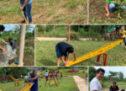 Avanza rehabilitación de unidad deportiva El Bosque