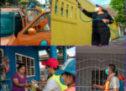 El Tequio por la Salud del Presidente Noé Ramírez Chávez llegó a la colonia Ex Normal