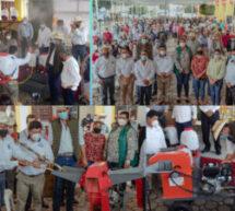 Apoyo histórico del Gobierno de Tuxtepec al campo, entregan más de 11 MDP