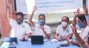 Aprueba Nueva Alianza Oaxaca primer bloque de candidaturas para el proceso electoral 2020-2021