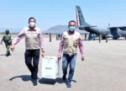 Arriba a Oaxaca nuevo cargamento de vacunas contra la COVID-19 de la farmacéutica Pfizer-BioNTech