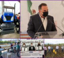 Gobierno de Oaxaca crea condiciones para el desarrollo del campo