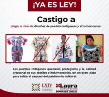 🔴Aprueban en Oaxaca sancionar a plagiadores de textiles indígenas: Laura Estrada Mauro