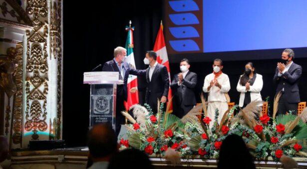 Oaxaca y Canadá se hermanan a través del intercambio cultural y artístico de sus pueblos originarios