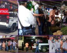 Tuxtepec iniciará semana con nuevas medidas sanitarias.