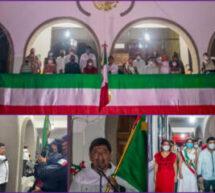 Noé Ramírez Chávez y pueblo de Tuxtepec se unen en Grito de Independencia virtual