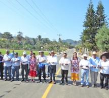 Gobierno de Cué moderniza caminos en la Cuenca del Papaloapan