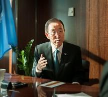El secretario general de la ONU anuncia visita a México